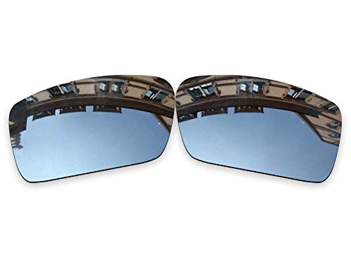 Vonxyz Lenses Replacement for Oakley Gascan Sunglass - Chrome MirrorCoat Polarized