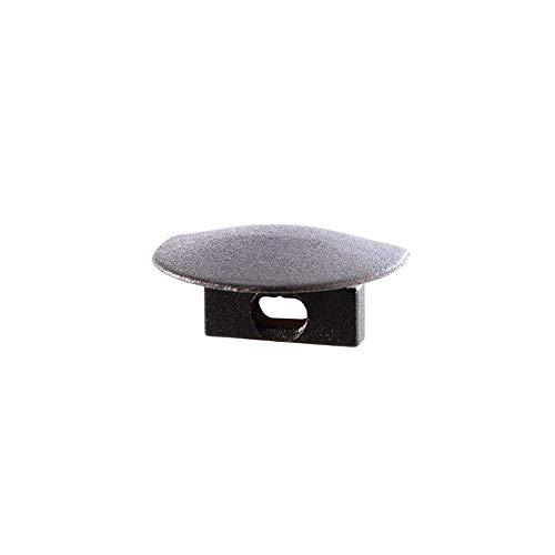 reprofil Accessoires pour profil LED F Lot de 2 et de 01–05 Embout, noir 978682