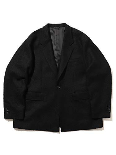 (ビームス)BEAMS/テーラードジャケット ツイード イージー ジャケット メンズ BLACK S