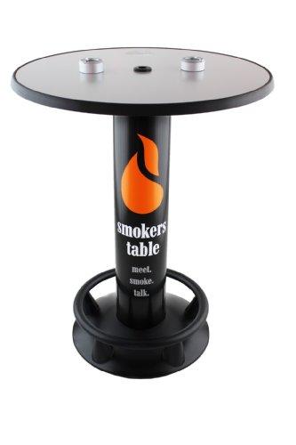 SEVERIN Rauchertisch - Stehtisch mit Aschenbecher Standaschenbecher Outdoor Indoor