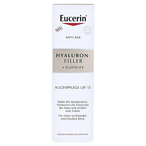 Eucerin Anti-Age Hyaluron Filler + Elasticity Auge, 15 ml