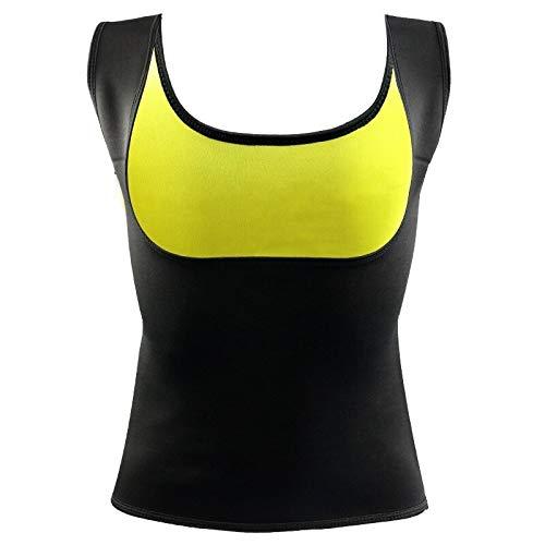 AFFNBDYP Conformación de las mujeres Tops Busto abierto sin mangas delgado del chaleco de Cami Top Control de Abdomen talladora del cuerpo de la cintura Cinchers (Color : Vest, Size : 4XL)