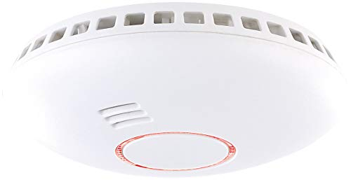 VisorTech Rauchmelder: Vernetzbarer 2in1-Funk-Hitze- & Rauchwarnmelder RWM-460.f, 85 dB (Funkrauchwarnmelder)