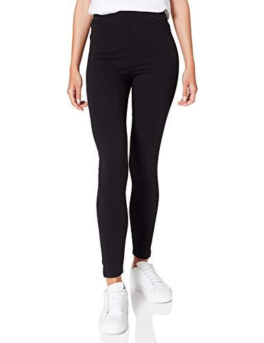 Springfield Legging Abertura Bajo Pantalones, Negro, M