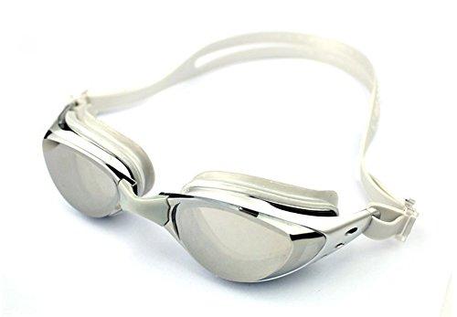 Ispeed Mirror Pro Swim Goggle (Silver)