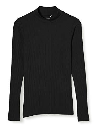 NAME IT NKFDALIMA LS Top Noos Camiseta sin Mangas, Negro, 6 años para Niñas