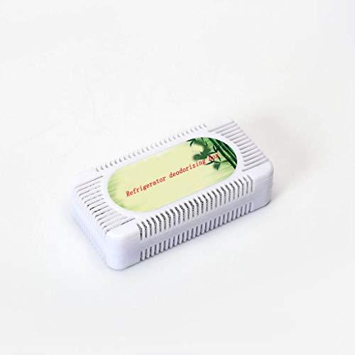YFAX, ambientador de carbón Activado para refrigerador, Desodorante de carbón Activado para refrigerador, Elimina el Olor y la Humedad, Mantiene el refrigerador con un Olor Fresco, 1 Paquete