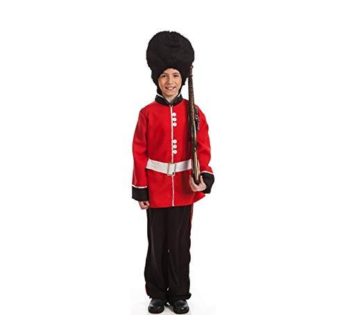 EL REY DEL CARNAVAL, SL Englische Garde Kostüm für Kinder G2-(8/10 Jahre)