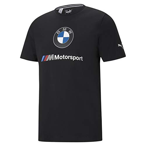 PUMA BMW M Motorsport Essentials Herren T-Shirt mit Logoprint Puma Black M