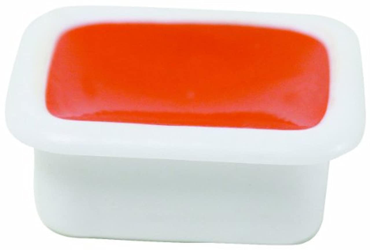Sargent Art 22-8014 12-Count Half-Pan Single Color Watercolor Cake Refill, Orange