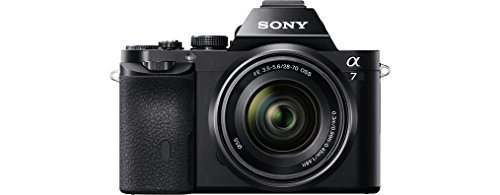 Sony Alpha 7 E-Mount Vollformat Digitalkamera ILCE-7 (24,3 Megapixel, 7,6cm (3 Zoll) LCD Display, BIONZ X) schwarz & PCK-LM16 robuste LCD-Schutzabdeckkung für ILCE-7/ILCE-7R Kamera