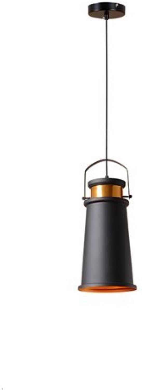 ZYY  Tête de plafond vintage tête unique lustre américain Village Lustre créatif restaurant industriel rétro plafonniers pour bar café-restaurant plafonnier (taille  style B)