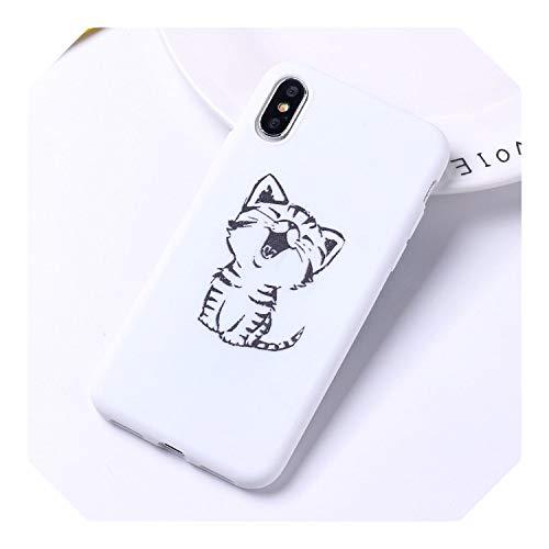 Lindo gato Corgi Butt Animal Cachorro de dibujos animados suave silicona caramelo caso Coque Para iPhone 11 Pro 6 6S 8 8 Plus X 7 Plus X XR XS Max