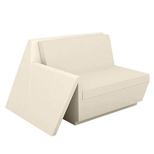 Vondom Rest módulo sofa derecho ecru