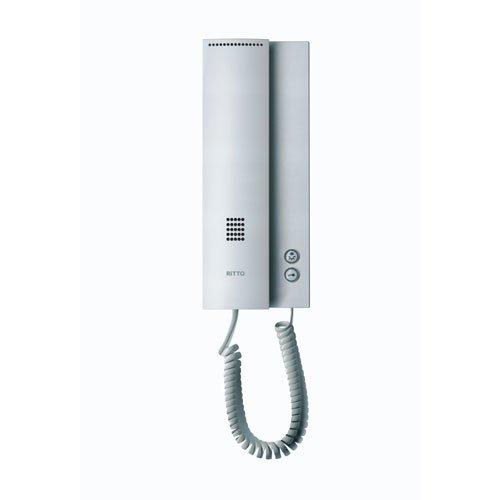 Ritto 1763020 Wohntelefon silber
