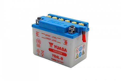 classement un comparer Batterie de moto Yuasa YB4L-B, 120x70x92mm, 12V