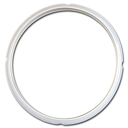 """GJS Gourmet sealing ring or gasket compatible with MIDEA 5 or 6 liter/quart pressure cooker"". This ring is not created or sold by Midea."