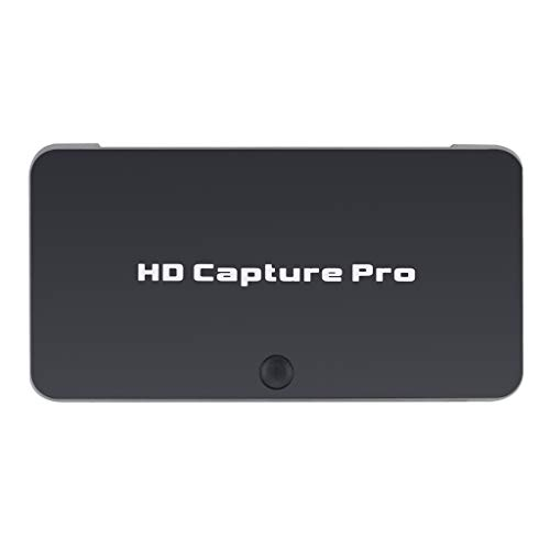 perfk Grabadora HDMI, grabadora de vídeo HD de Alta definición, grabadora HDMI, PVR, DVR, programación de grabación