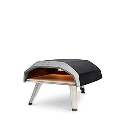 Ooni Koda 12 Outdoor Pizza Oven, Pizza Maker, Portable Oven, Gas Oven, Award Winning Pizza Oven with Pizza Stone by Ooni Limited