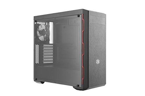 Cooler Master MasterBox MB600L with ODD, Red Trim Case per PC 'ATX, microATX, mini-ITX, USB 3.0, con Finestra Laterale' MCB-B600L-KA5N-S00