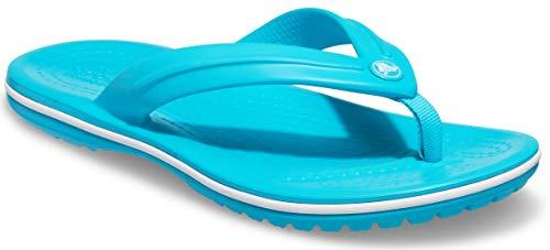 Crocs Crocband Flip Flop, Digital Aqua, 2 UK