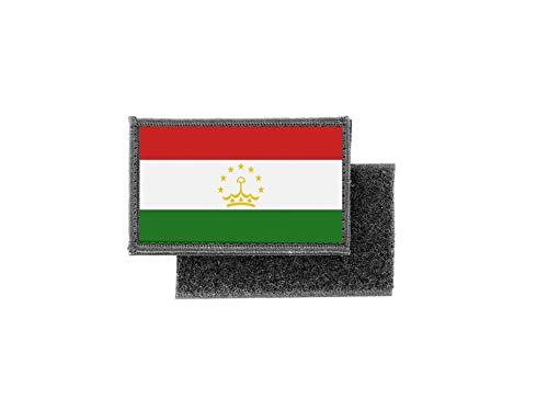 Aufnäher patch aufbügler gedruckt flagge fahne tadschikistan