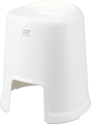 リス 風呂椅子 高さ 40cm ホワイト H&H『防カビ加工』 日本製