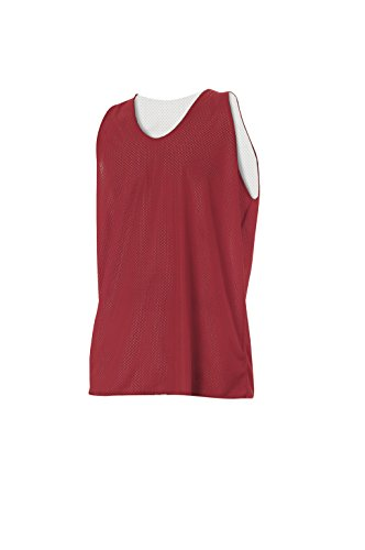 Adult Reversible Athletic Mesh Team Scrimmage Practice Jerseys for Basketball, Soccer Lacrosse
