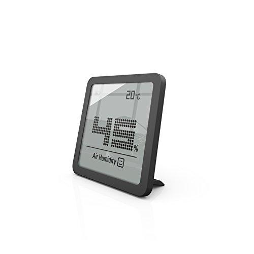 Stadler Form Hygrometer Selina little, präzises digitales Messgerät für Luftfeuchtigkeit und Temperatur, schwarz