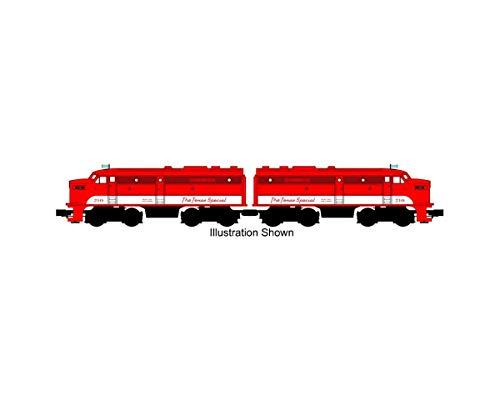 Williams by Bachmann Texas Special #210 Alco Fa-2 Powered & Dummy A-A Train Set (O Scale)