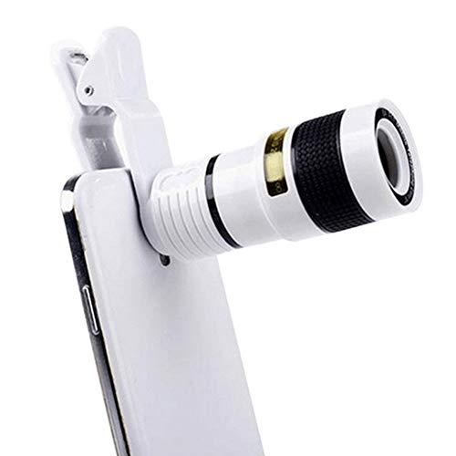 Alftek 12-voudige zoom mobiele telefoon camera lens telescoop externe telescoop met universele clip