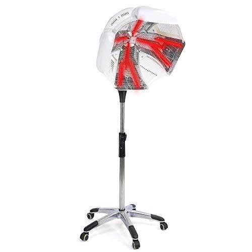 Professionnel Sèche-Cheveux Capot 950 W Portable Salon Beauté Bonnet Style Plancher Roulant Base avec Roues pour Salon de Beauté Équipement Maison