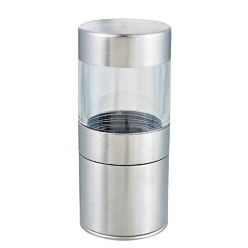 SHYPT Molino de pimienta de sal manual Molinillo de acero inoxidable condimento Muller Accesorios de herramientas de cocina Botella de molienda Picadora de salsa de especias