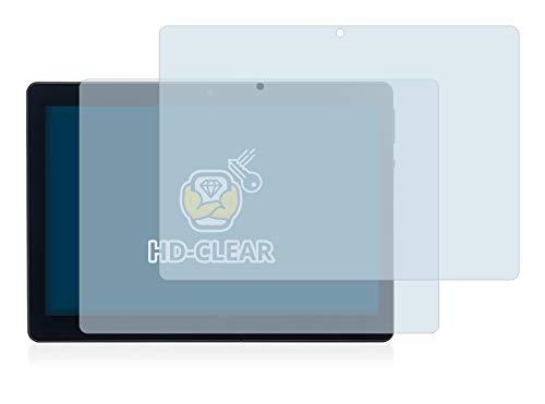 BROTECT Schutzfolie kompatibel mit Acepad A140 10.1 (2 Stück) klare Displayschutz-Folie