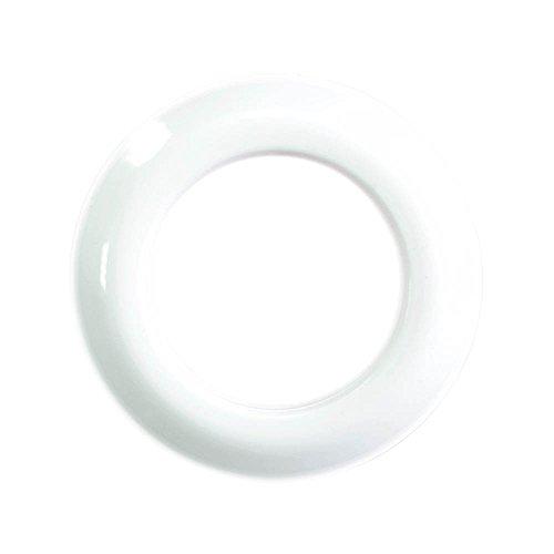 Trim&Tram DEC0070 C053 Blister de 8 Œillets à Clipser Plastique Blanc
