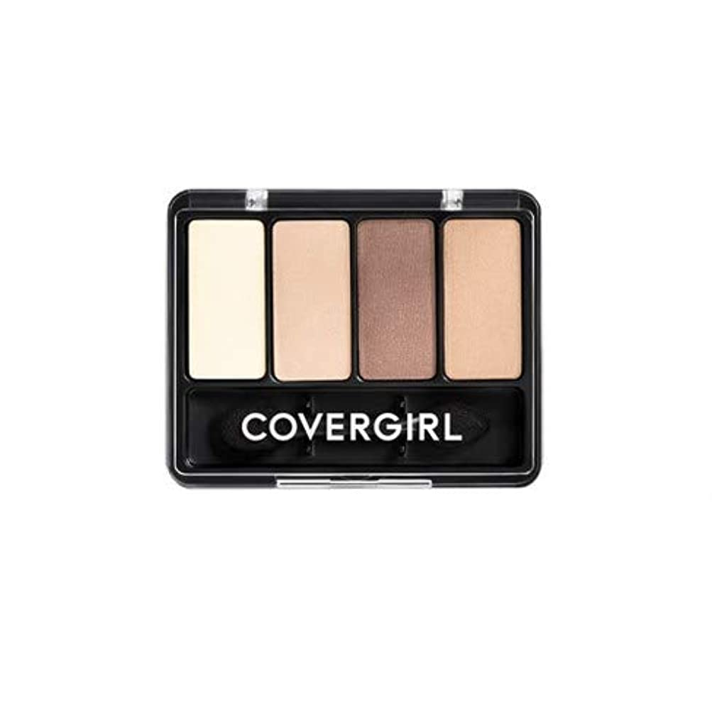 バケツケープオンス(3 Pack) COVERGIRL Eye Enhancers 4-Kit Shadows - Natural Nudes 280 (並行輸入品)