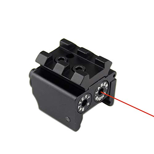 Review BATTLEFIRE Tactical Subcompact Metal Red Laser Sight for Pistol Glock Class IIIA 5mw