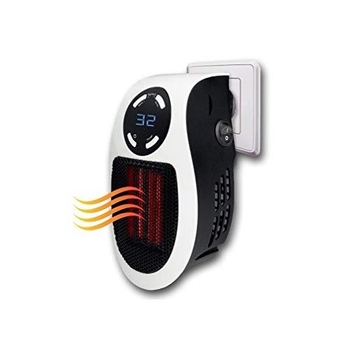 ILYO Calentador de Espacio, 500W portátil Mini Oficina en casa Mini Calentador Ventilador Ahorro de energía calefacción Ventilador...