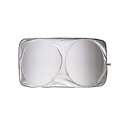QREAEDZ 190x90cm Universal UV Protección Escudo Frente Trasero Ventana de Coche Sombrilla Sun Shade Visor Portero Auto Coche Anti Nieve Hielo (Color : 150X70)
