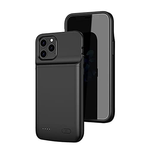 HiKiNS Funda Batería para iPhone 12 Mini 4800mAh Externa Ultra Batería Recargable Power Bank Case Funda Cargador Portatil Batería para iPhone 12Mini