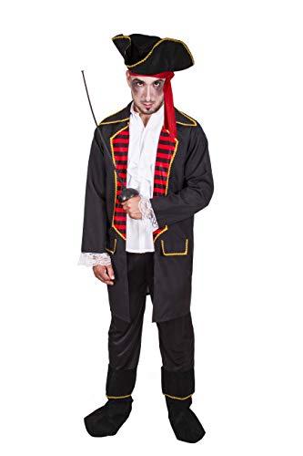 Costumizate! Disfraz de Pirata 2 Adulto Especial para Fiestas de Disfraces y Carnaval Talla Unica