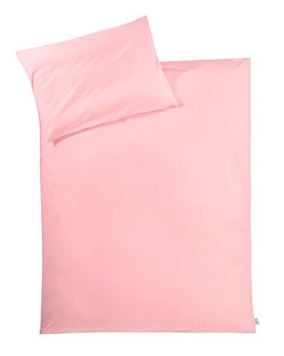 Julius Zöllner 8460144762 Parure de lit en jersey, rose