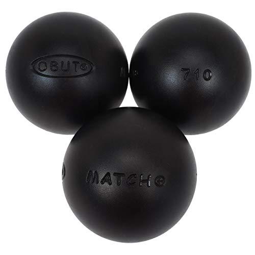 Obut Match - Bolas de petanca, 74mm