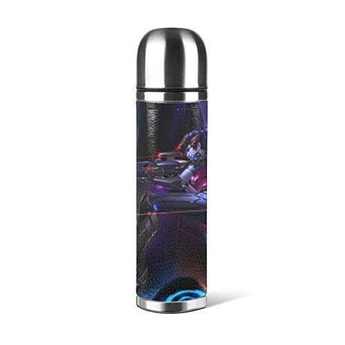 AEMAPE Overwatch Widowmaker Taza de vacío Taza de Agua Inoxidable aislada Taza de Viaje de café Deportivo Taza Termo Taza de Cuero Capacidad de la Cubierta 17 OZ`A1
