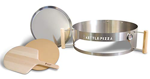 KettlePizza Deluxe 22.5 - Pizza Oven Kettle Grills