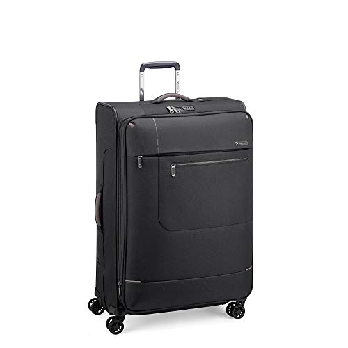 RONCATO Sidetrack trolley morbido large espandibile 4 ruote Nero tsa