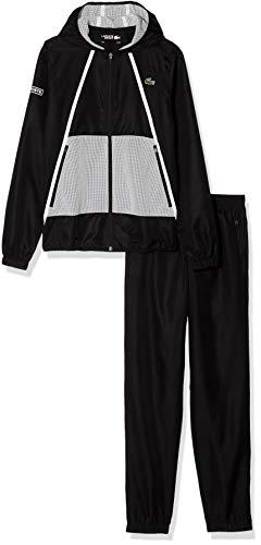 Lacoste Sport Herren Wh4808 Sportswear-Set, Schwarz (Noir/Noir-Noir-Blanc Z7s), XXX-Large (Herstellergröße: 8)