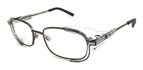 Armação Oculos De Proteção Para Lentes De Grau Univet 536