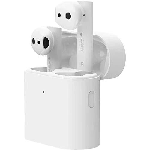 Xiaomi Mi True Wireless Earphones 2, Auriculares inalámbricos sin Cables, conexión Bluetooth 5.0, Control Doble Tap, Audio Codec SBC, AAC, LHDC, Compatible con iOS y Android