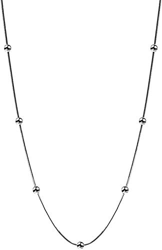 Liuqingzhou Co.,ltd Collar Collar Clavícula Cadena Mujer Neklace para Mujer